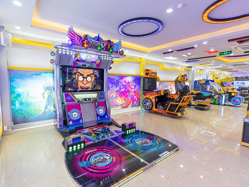 Khu vui chơi trong nhà dành cho trẻ em tại thành phố Móng Cái