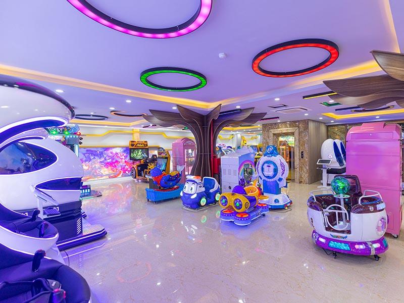 Khu vui chơi trong nhà dành cho trẻ em lớn nhất thành phố Móng Cái
