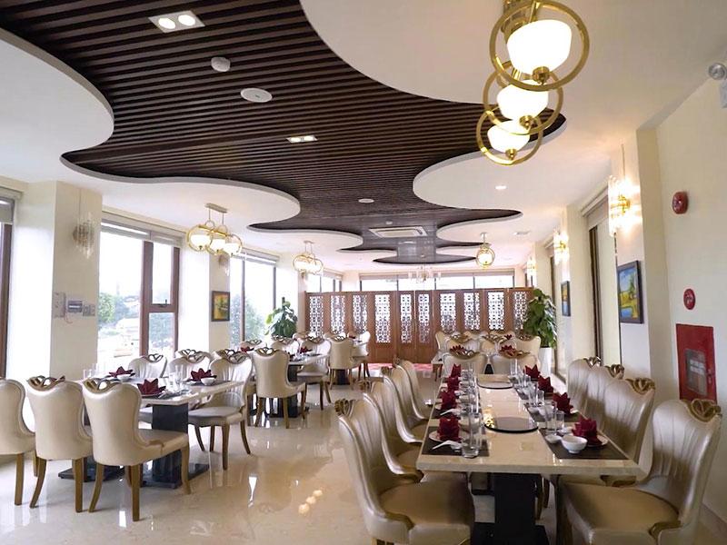 Nhà hàng đặt tiệc tại Móng Cái lý tưởng